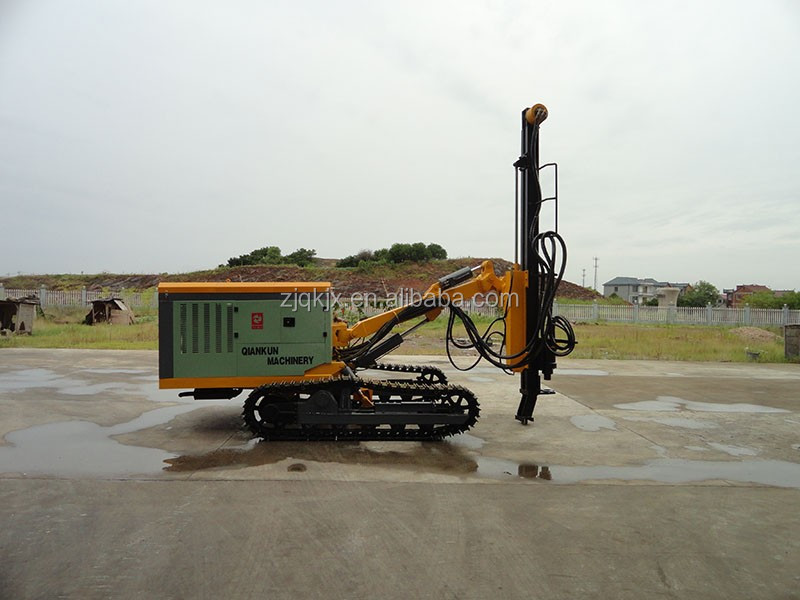 Factory direct sale DTH Rock Drilling Rig Crawler Hard Rock Drill
