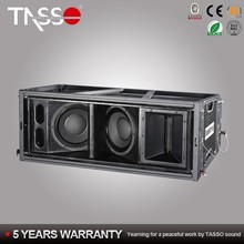 2 Way Pa System Outdoor Concert Speaker Line Array from Tasso audio