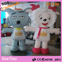 OEM outdoor inflatable character cartoon for advertising