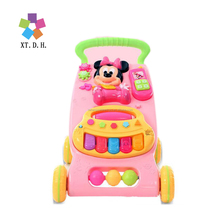 2017 good quality baby walker for sit-to- stand,multi functions baby carriage, multi colors baby walkers for choose