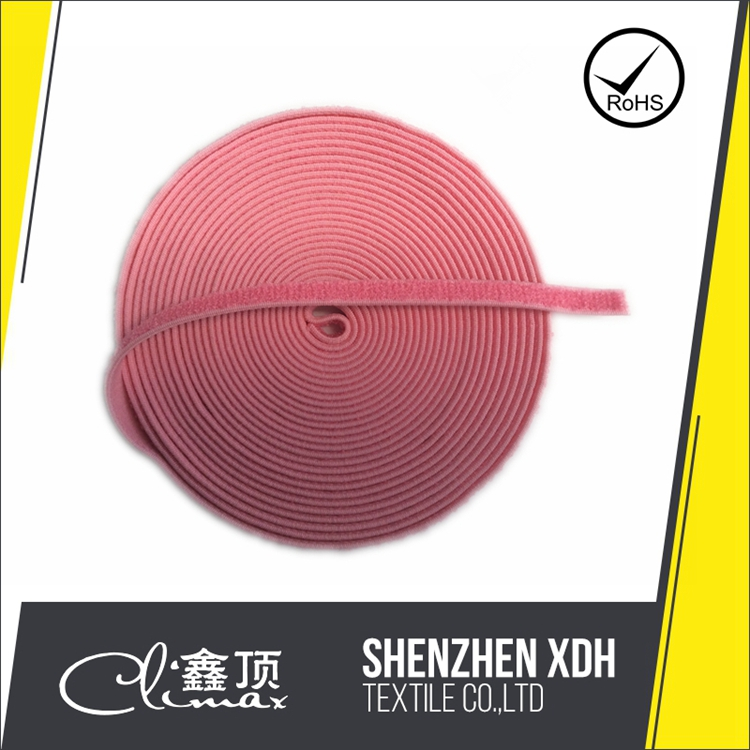 XDH10306 Woven Nylon Stretchable Hook and Loop Fasteners for Bra Strap