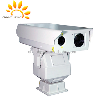 Visible color day/night 1000m range of infrared laser night vision IP camaera