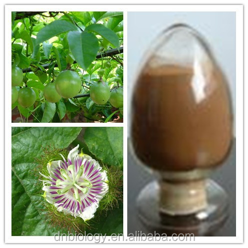 Passion Flower Extract/Passiflora caerulea P.E passionflower powder, passionflower extract powder, passionflower p.e
