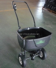 fertilizer lawn speader and garden grass seed spreader