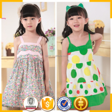 Fresh green summer collection of girls lovely girls images new design children's skirt