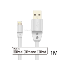 MFI manufacturer directly supply 8pin USB cable for iPhone6S/iPad