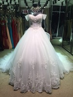 ghana wedding dresses with detachable train for pregnant woman