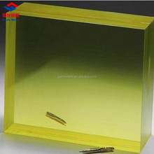 7 8 10 12 18 20 25 30MM Thick Lead Glass High Lead Equivalent