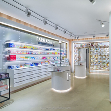 Farmacia Cabinet Shop Interior Design Retail Display Pharmacy Furniture With Pharmacy <strong>Shelves</strong>
