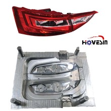Plastic injection mold manufacturer Custom Plastic car parts For Car lamp mold and head/tail car light cover moulding