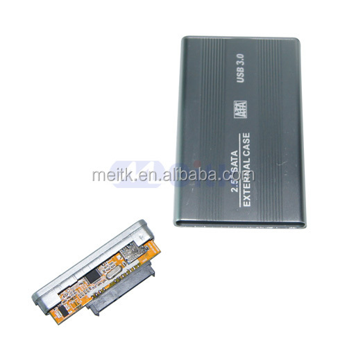 "Small order accept USB3.0 to 2.5"" Sata HDD Enclosure Case with best quality"