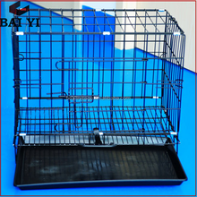 Colorful Pet Stainless Steel Dog Cages / Aluminum Pet Cage