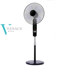"16"" cooling oscillating electric stand fan with remote control"