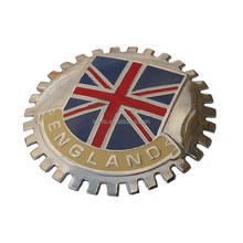 Custom Union jack flag CAR BADGE England car emblem