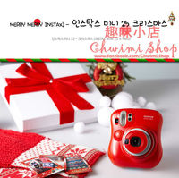 Fuji film Instax mini Camera instant Polaroid mini 25s New Year RED Limited edition