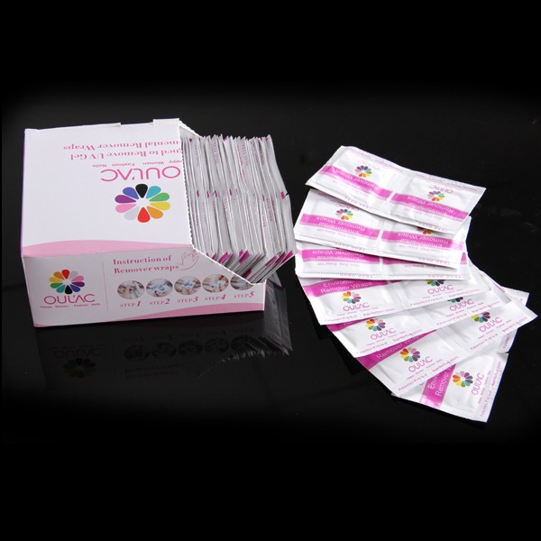 New Nail Products 200 pcs/box Nail Gel Polish Remover UV Gel Remover