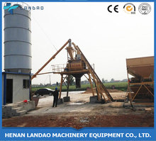 China Manufacturers Bucket Type Small Capacity Ready Mix Wet Fixed Concrete Mixing Plant HZS35