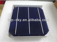 high efficiency 156mm mono solar cells 6inch mono solar cell PV solar cell solar panel, warranty