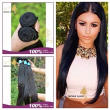 Specialized hair companies looking for distributors, Mona Hair 7A grade straight hair, virgin Vietnamese wholesale hair bundle