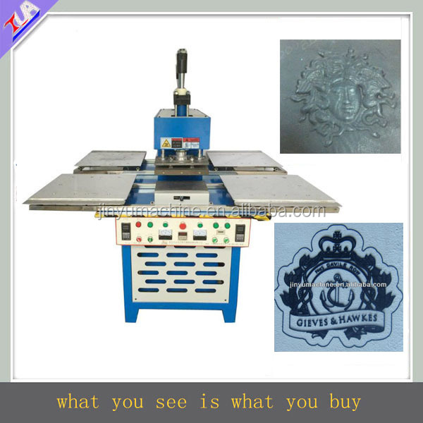 JY-B04 full-automatic jeans silicon/rubber label making machine