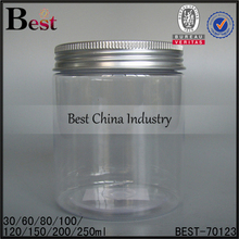 150ml beauty useful bath salt jar, plastic kilner jar for spices