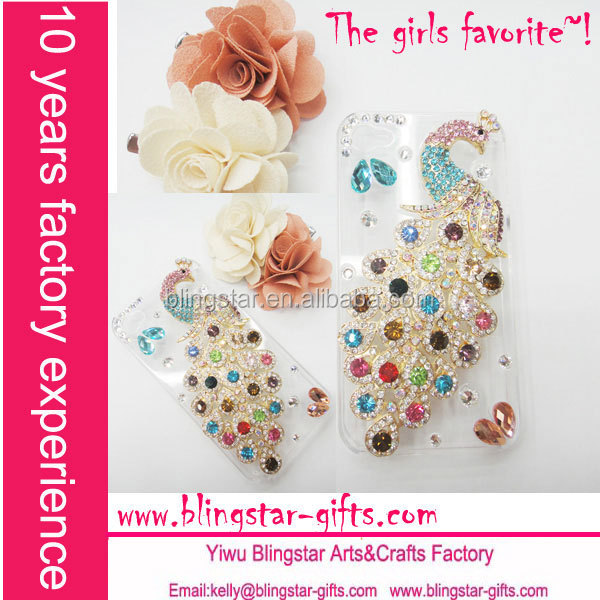 Cute 3D for crystal iphone cases