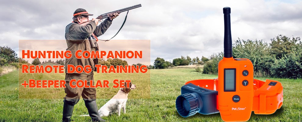 2016 Electronic Beeper Hunter 2000 Beeper Collars For Hunting Dogs WT715