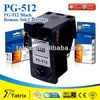 for Canon PG-512, Reman PG-512 Ink Cartridge for Canon PG-512 , With 2 Years Warranty.