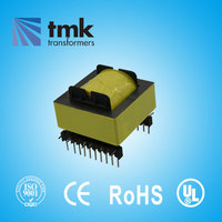 EE Type Ferrite Core High Frequency PCB Mount Transformer EE28 EE30 EE33 EE35 EE40 EE42 EE50 EE55 EE65 EE70 EE80