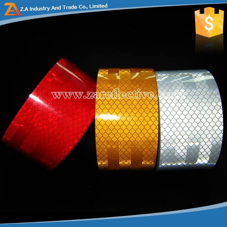 High Intensity Micro Prismatic Safety Warning Conspicuity Reflective Tape With Quality ECE R104