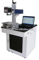 YLP-HB Desktop 10w fiber engraving animal ear tag laser marking machine