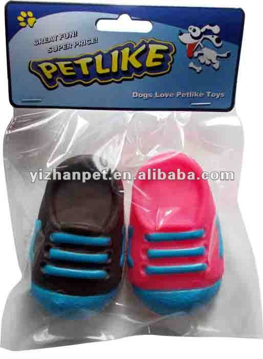 Squeaky Shoes Small Size vinyl dog toys pet toys Fun Wholesale Pet Products