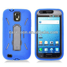 Mobile Phone Armor Case with kickstand For Samsung Galaxy S II SGH-T989