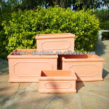 Large Fiberglass Planters Garlic Planter Pots Seed Planter Container QL-13168 4pcs/set 9kg Hot Sale