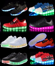 led factory shoes sneakers 500+designs new with adult kids of CE sizes for sneakers, factory shoes led