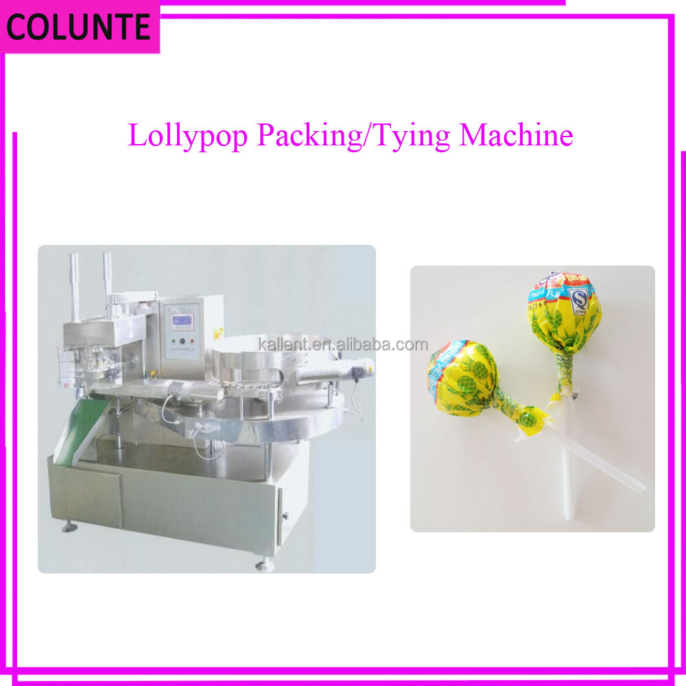 Henan Colunte High Quality Automatic Horizontal Ball Lollipop Wrapping Machine
