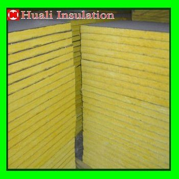 Air conditioner duct insulated fiberglass wool board buy for Insulation board vs fiberglass