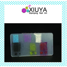 Customized nail art stamping plates