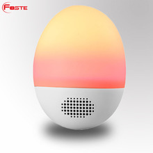 FT-52 Mini LED Colorful Wireless Stereo Ball Speakers with Remote Control, Led light with Blue tooth Speaker Portable