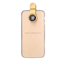 Universal Mobile phone fish eye/0.67x wide-angle/macro glass clip-on lens cheapest 3 in 1 lens for pad/ip/table PC LQ-001B