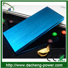 Best quality super slim portable power bank charger 12000mAH with led charge indicator