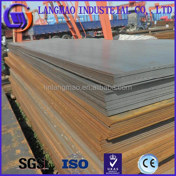 manganese steel plate and coils made in China