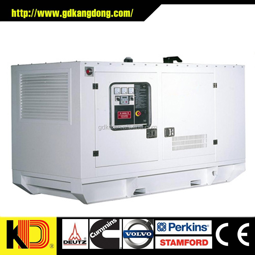 400V 100kw Diesel Genset Electronic Governor With Cummins Engine