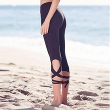 Wholesale Elastic Sports GYM Running Fitness Wear /Tight Leggings/ bandage Ballet pants
