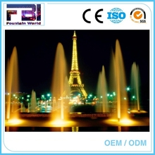 LED Floating System small size music fountain musical dancing fountain