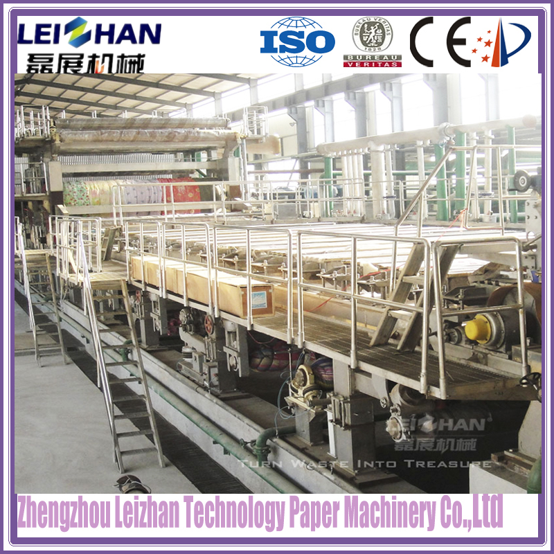 Automatic waste paper recycling machine/raw paper manufacturing machinery