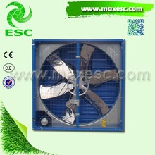 Window Mounted Greenhouse Cooling System Large Industrial Exhaust Fan