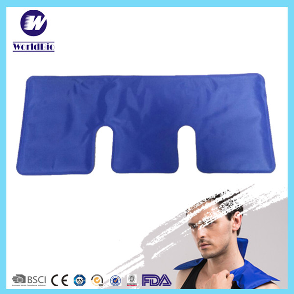 Blue Back Ice Gel Pack Cold Therapy Back Pain Relief Flexible Pain Heat Belt Compress Pack For Knee Amazing Products From China