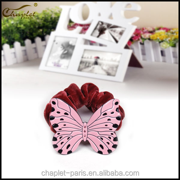 Cellolose Acetate Eco-friendly Butterfly Elastic Hair Band