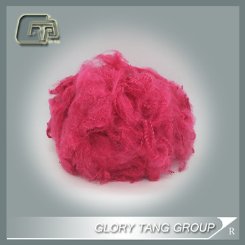GTR310 polyester tops 100% recycled polyester fibers types of synthetic fiber